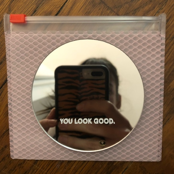 Glossier Makeup You Look Good Mini Purse Mirror Poshmark